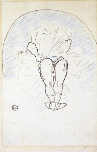 Henri de Toulouse-Lautrec - Footit as a dancer