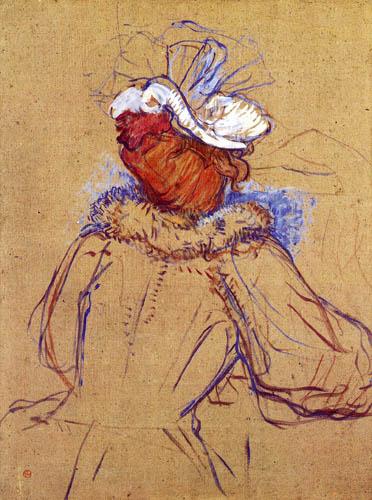 Henri de Toulouse-Lautrec - Redheaded woman