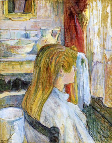 Henri de Toulouse-Lautrec - Woman before the window