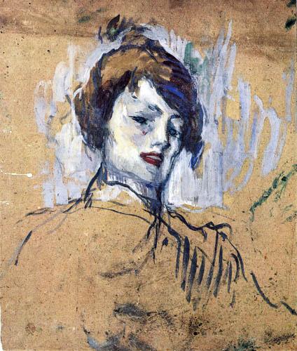 Henri de Toulouse-Lautrec - Portrait de Femme