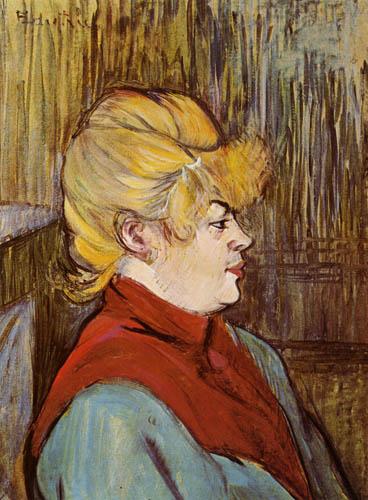 Henri de Toulouse-Lautrec - Daughter of joy