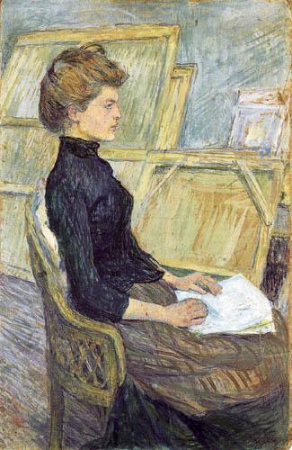 Henri de Toulouse-Lautrec - Hélène Vary