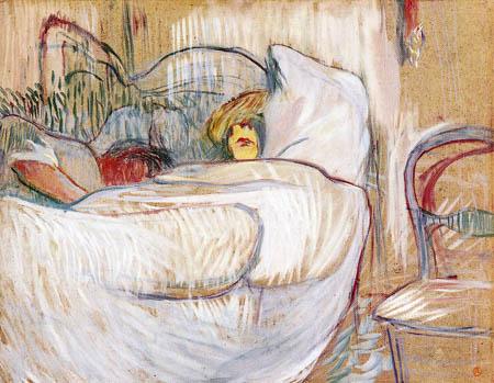 Henri de Toulouse-Lautrec - In bed