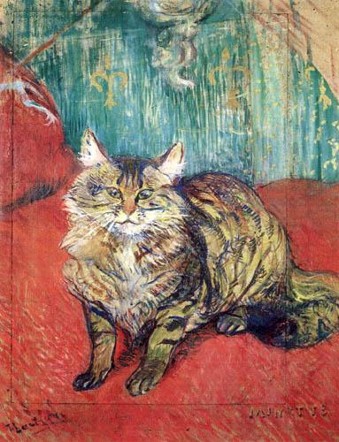 Henri de Toulouse-Lautrec - Kitty Minette