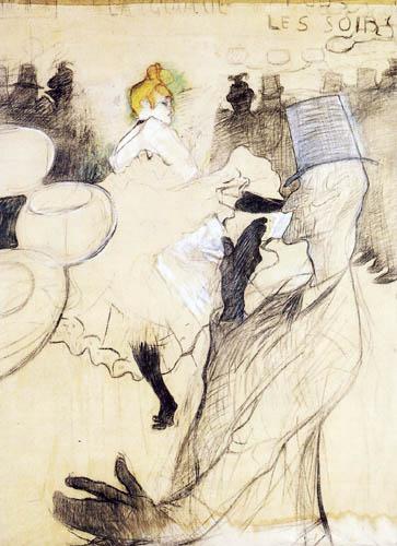 Henri de Toulouse-Lautrec - La Goulue and Valentin the Contortionist