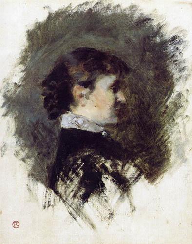 Henri de Toulouse-Lautrec - Madame la Comtesse A. de Toulouse-Lautrec