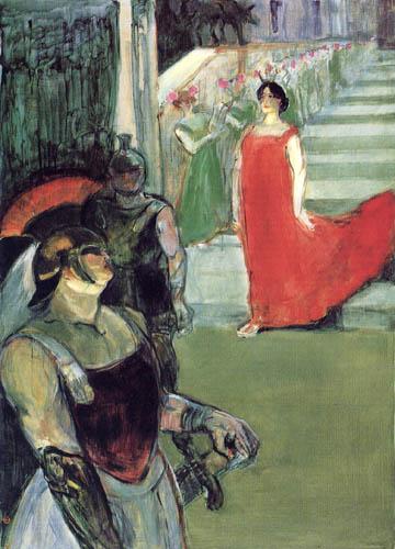 Henri de Toulouse-Lautrec - Messalina