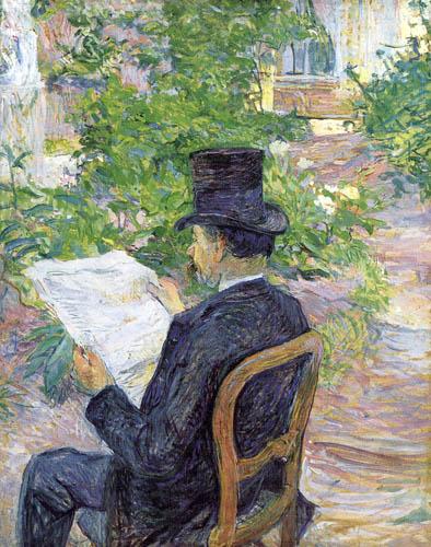 Henri de Toulouse-Lautrec - Monsieur Désiré Dihau