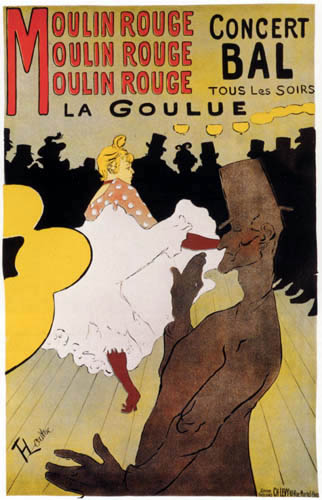 Henri de Toulouse-Lautrec - Moulin Rouge: La Goulue