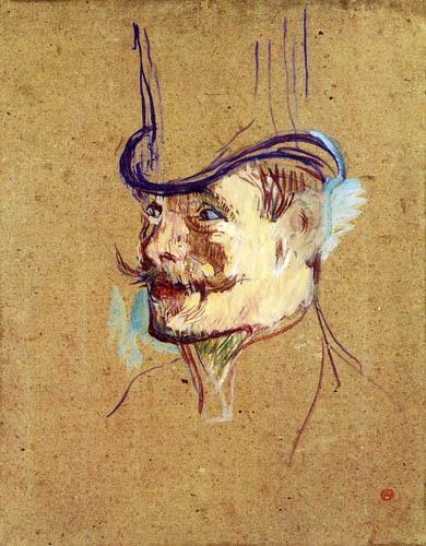 Henri de Toulouse-Lautrec - Mr. Warrener in Moulin Rouge