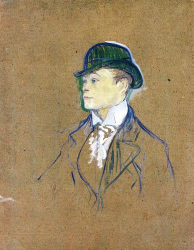 Henri de Toulouse-Lautrec - Portrait of a stable-lad