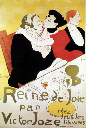 Henri de Toulouse-Lautrec - Reine de Joie