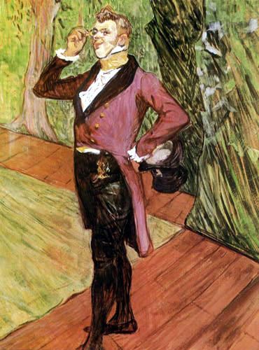 Henri de Toulouse-Lautrec - The actor Henry Samary