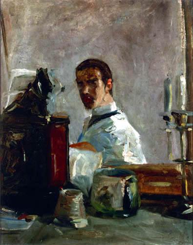 Henri de Toulouse-Lautrec - Selfportrait