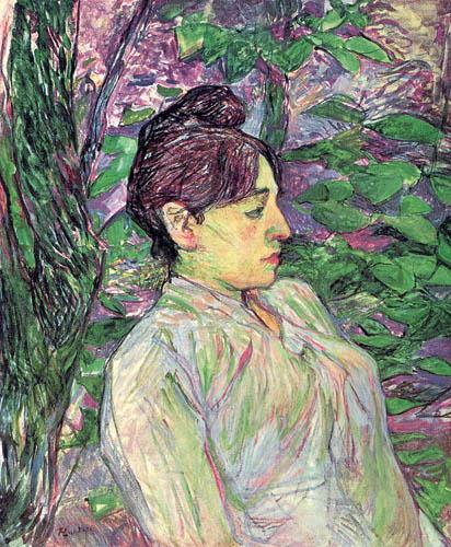 Henri de Toulouse-Lautrec - Under the Greenery