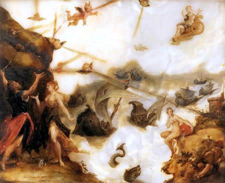 Hans von Aachen (Achen) - Die Entfesselung der Winde