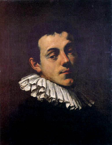 Hans von Aachen (Achen) - Portrait of the painter Joseph Heintz