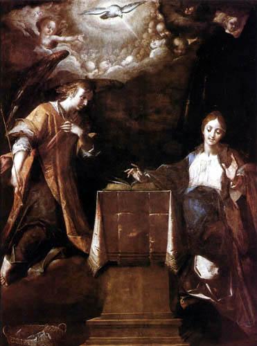 Hans von Aachen (Achen) - Annunciation