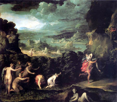Niccolò dell´ Abbate - Der Raub der Proserpina