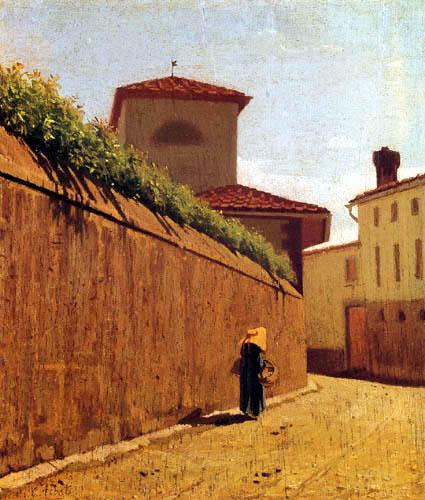 Giuseppe Abbati - Sunny Lane