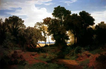 Andreas Achenbach - Italian Landscape