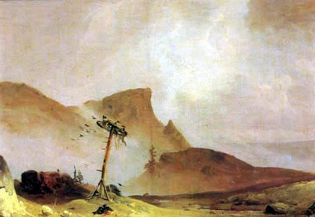 Andreas Achenbach - Mountain landscape