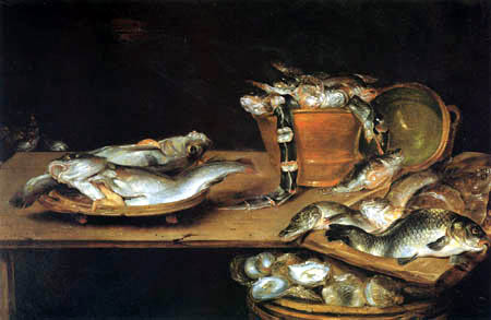 Alexander Adriaenssen - Fish Still Life