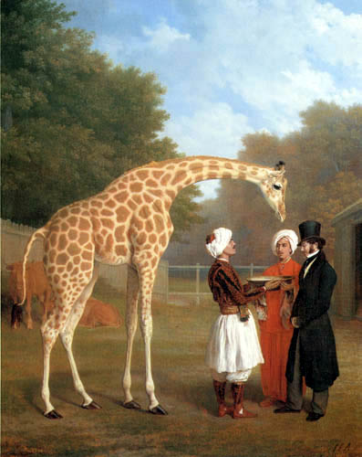 Jacques-Laurent Agasse - The Nubian Giraffe