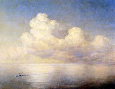 Ivan Konstantinovich Aivazovsky - Clouds over the Sea