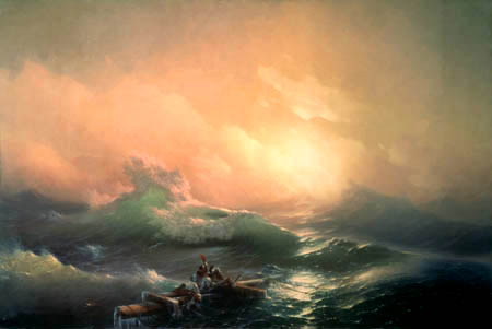Ivan Konstantinovich Aivazovsky - The wave