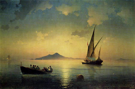 Ivan Konstantinovich Aivazovsky - Golf of Naples
