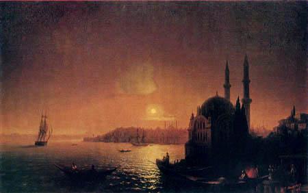 Ivan Konstantinovich Aivazovsky - Constantinople