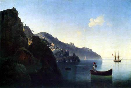Ivan Konstantinovich Aivazovsky - Amalfi Coast
