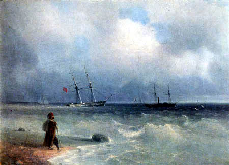 Ivan Konstantinovich Aivazovsky - On the Coast