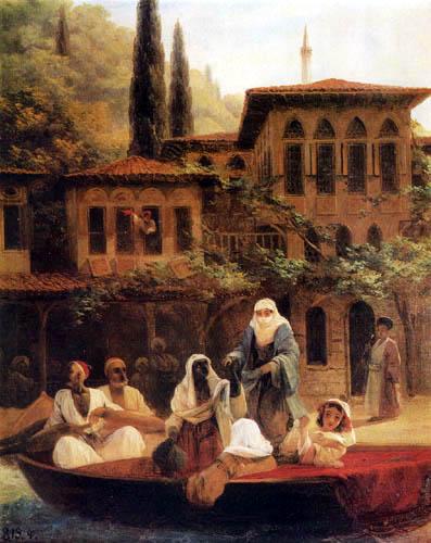 Ivan Konstantinovich Aivazovsky - Scene in Constantinople