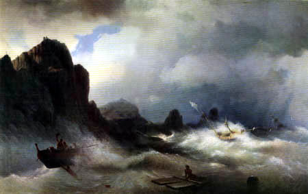 Ivan Konstantinovich Aivazovsky - Shipwreck