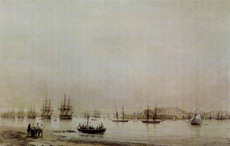 Iwan Konstantinowitsch Aiwasowski - Blick auf Sewastopol von Norden