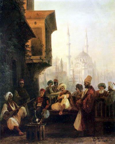 Ivan Konstantinovich Aivazovsky - Street scene in Constantinople