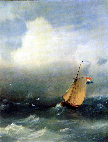Ivan Konstantinovich Aivazovsky - Stormy Sea