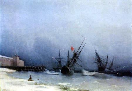 Ivan Konstantinovich Aivazovsky - Storm signal