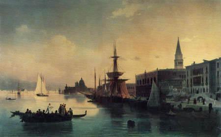 Iwan Konstantinowitsch Aiwasowski - Venedig