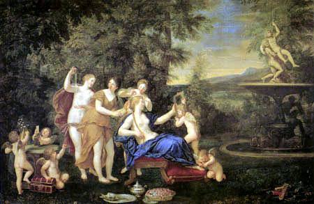 Francesco Albani - Toilette - Venus avant le miroir