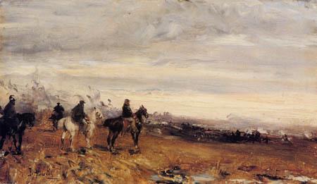 Sebastiano de Albertis - Battlefield