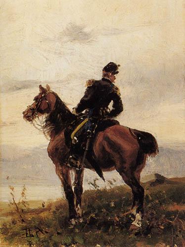 Sebastiano de Albertis - The officer