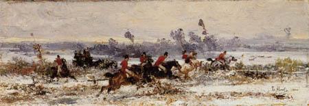 Sebastiano de Albertis - Foxhunting