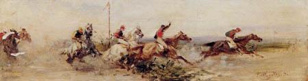 Sebastiano de Albertis - Horse racing