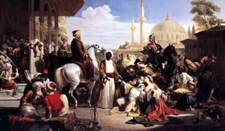 Sir William Allan RA - Slaves market