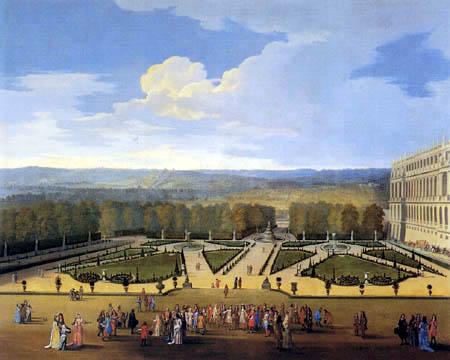 Étienne Allegrain - View of the North Garden