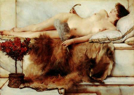 Sir Lawrence Alma-Tadema - Im Tepidarium
