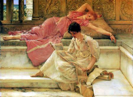 Sir Lawrence Alma-Tadema - Der favorisierte Dichter